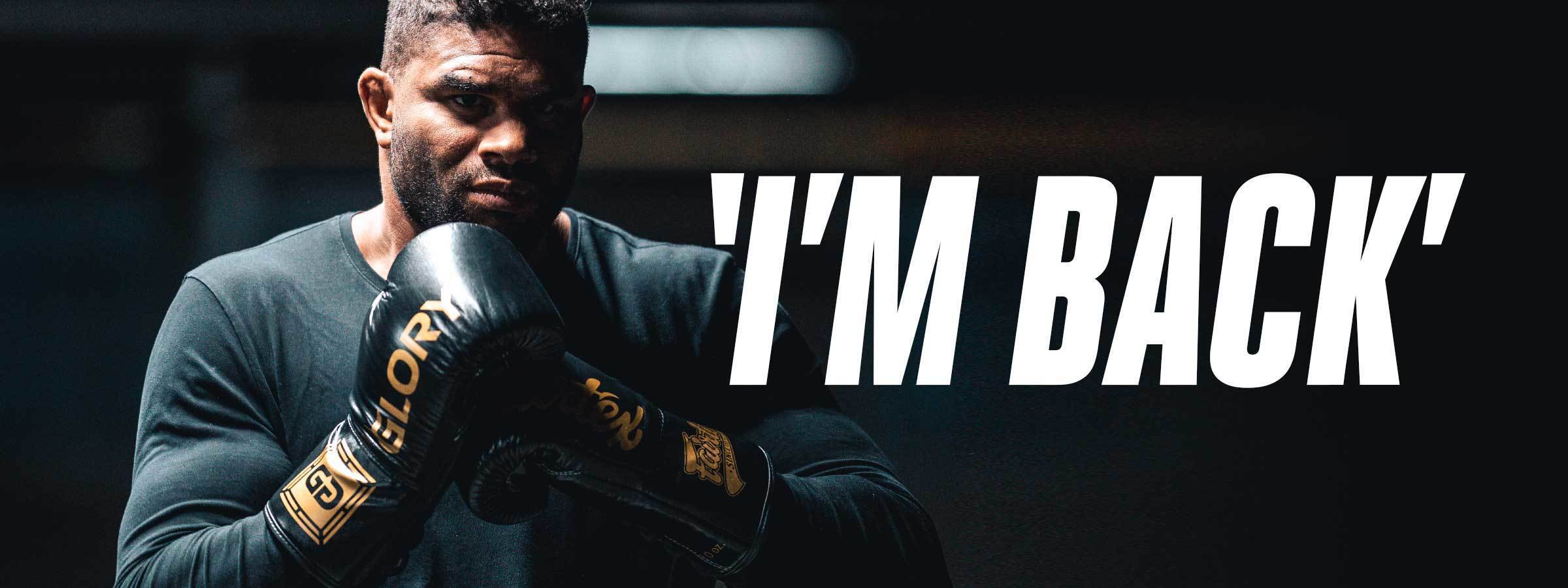 ALISTAIR OVEREEM SIGNS WITH GLORY