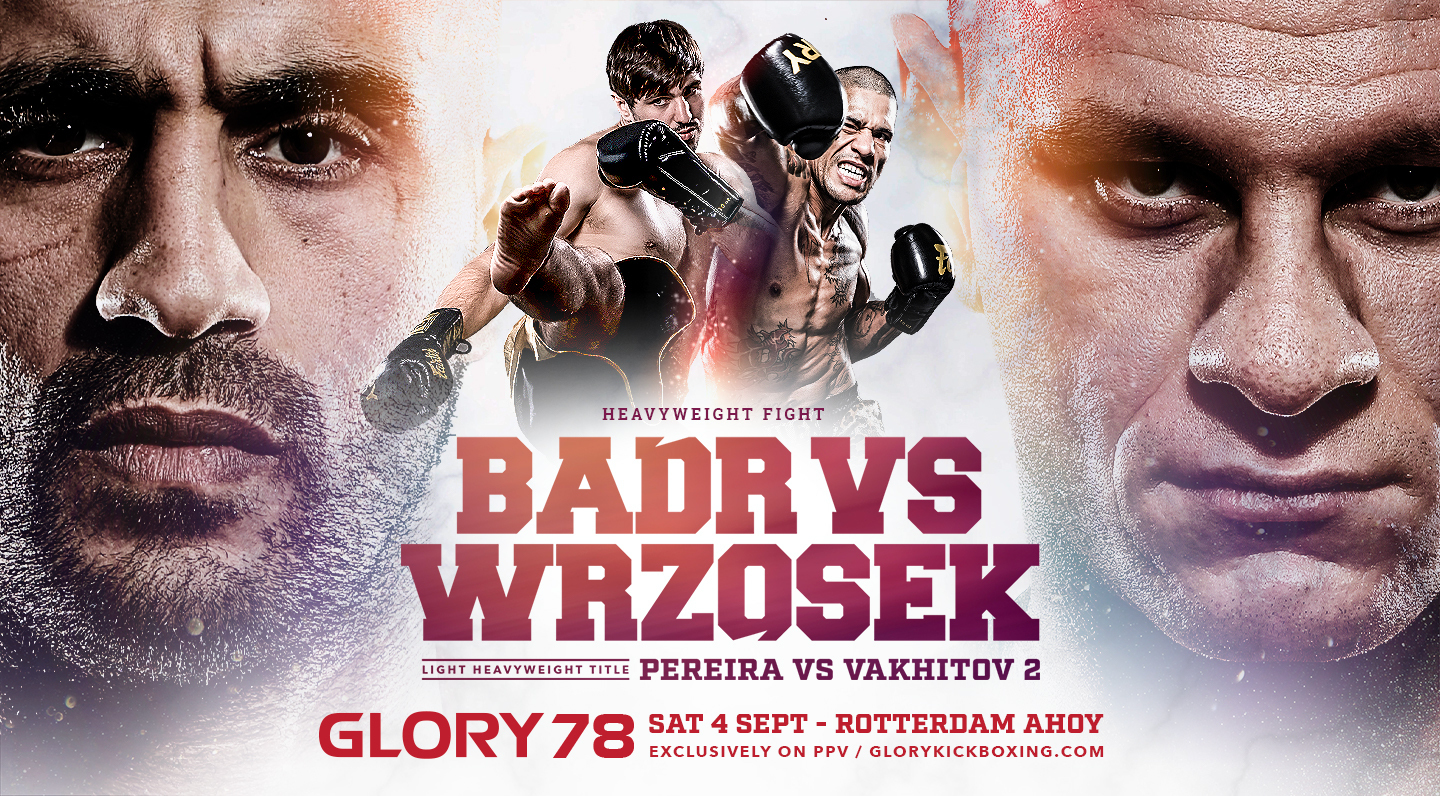 GLORY 78 Welcomes Kickboxing Fans Back to Rotterdam Ahoy on September 4