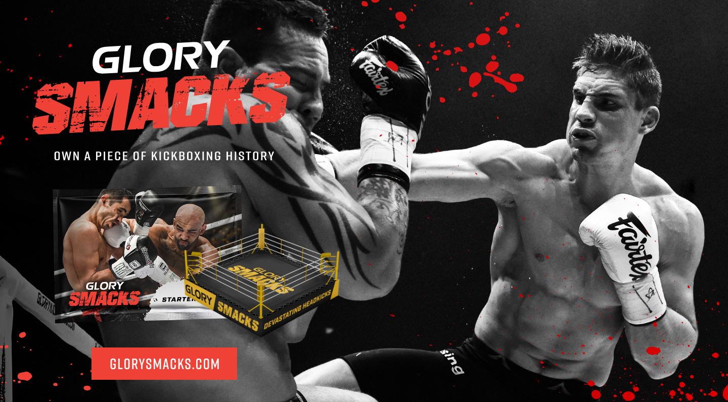 GLORY Partners with Fandem to Launch GLORY Smacks, the First Full NFT Marketplace for Combat Sports