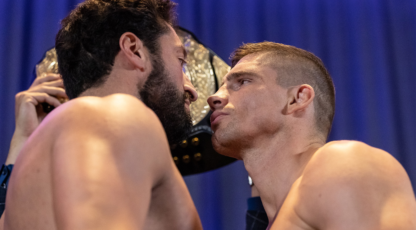 COLLISION 3 Weigh-ins: All GLORY Fighters Ready