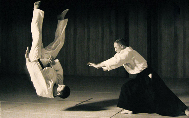 I wish Aikido worked like this against real resistance - that would be something!